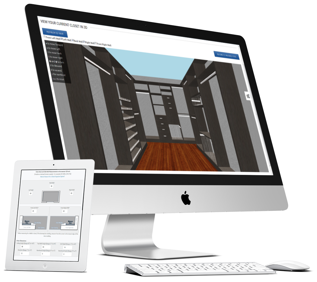 ClosetPro Software - Cloud based responsive closet design tool