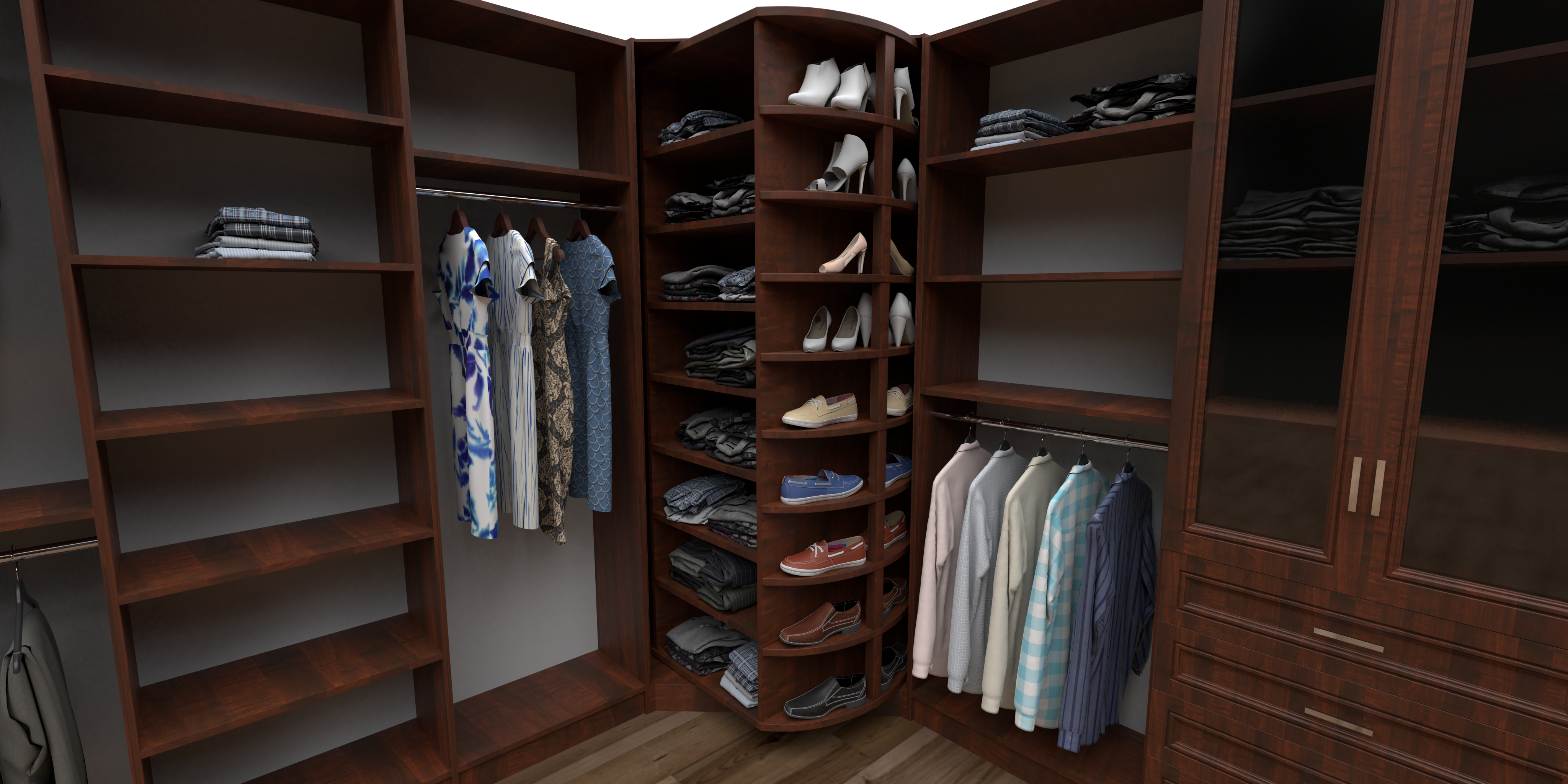 ClosetPro Software Closet Render