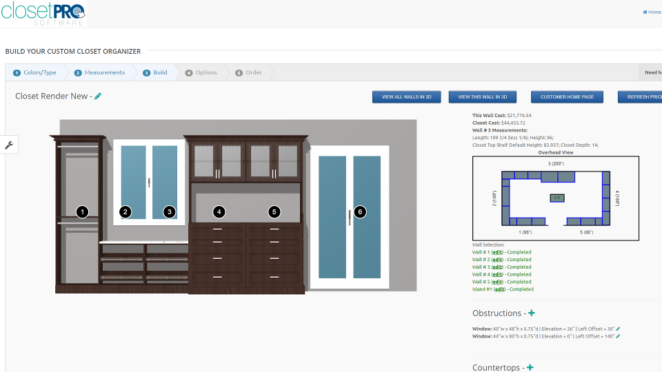 ClosetPro Software - Closet Design Tool